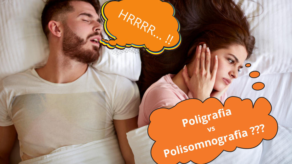 Polisomnografia lub poligrafia snu w diagnostyce chrapania i bezdechu sennego